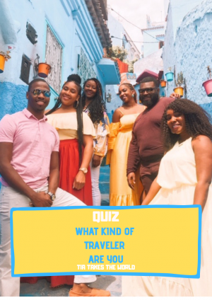 QUIZ: WHAT TYPE OF TRAVELER ARE YOU?