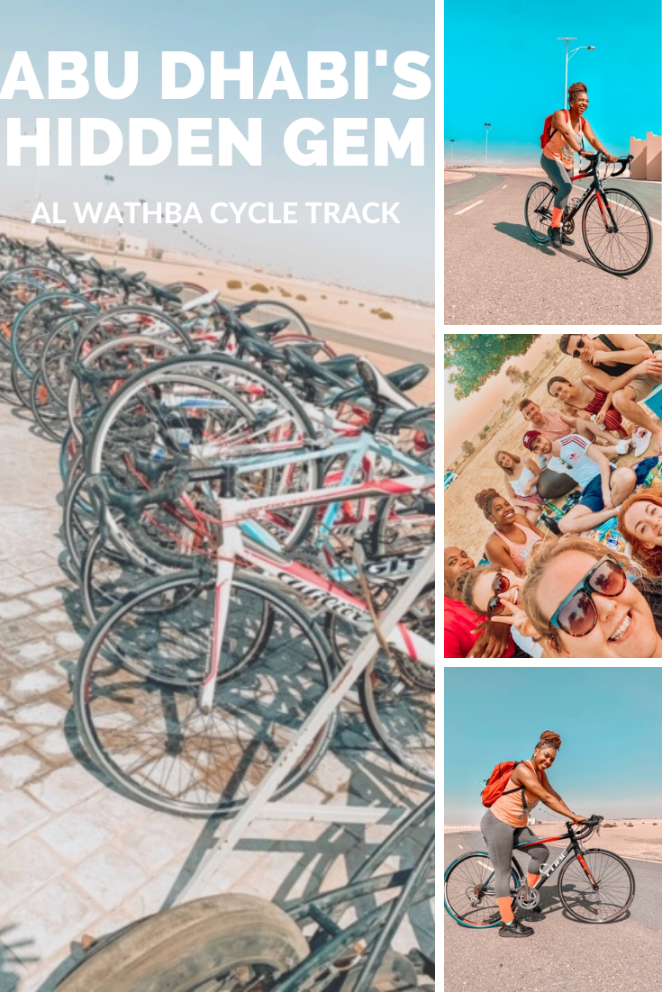 ABU DHABI'S HIDDEN GEM: AL WATHBA CYCLE TRACK